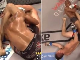 Unbelievable Knee Bar Counter to a Deep Triangle and an Armbar
