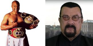 George Foreman Challenged Steven Seagal to a Fight in Las Vegas