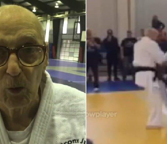 92 yr Old Judoka Still Competing