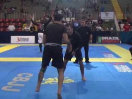 ADCC Champion choked out in 46 seconds