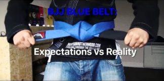 BJJ Blue Belt - Expectations vs Reality