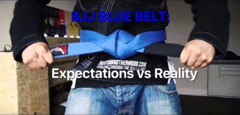BJJ Blue Belt - Expectations vs Reality