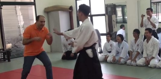Aikido vs Grappling - Fantasy vs Reality