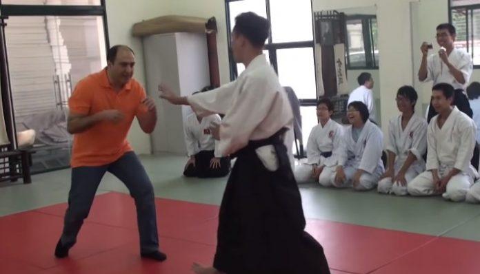 Aikido vs Grappling - Fantasy vs Reality