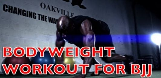 Bodyweight Workout for BJJ