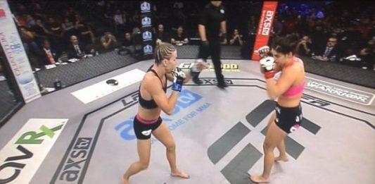 Mackenzie Dern Chokes Mandy Polk for 4-0 in MMA