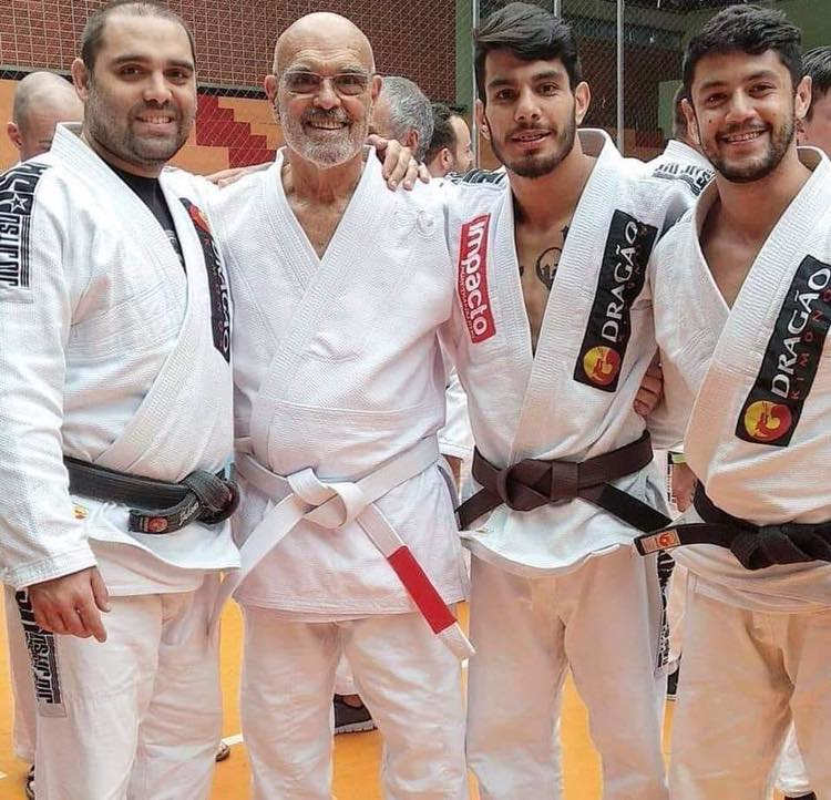 143190441 3683859048370292 2861490758908402142 n 1 - BJJ Red Belt Flavio Behring Promoted to a White Belt with Red Bar