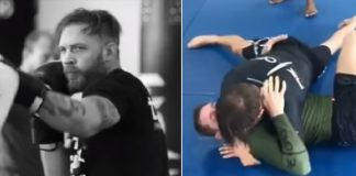 Tom Hardy Training BJJ and MMA for his Next Movie Venom in 2018