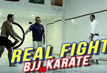 BJJ vs Karate - Karate guy Accepted a Challenge