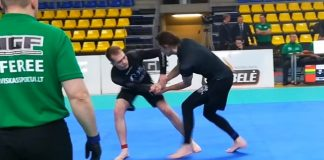 Aikido Instructor's First Jiu Jitsu Tournament versus MMA Guy after 3 months of Training!