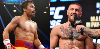 Connor McGregor vs Manny Pacquiao in 2018?