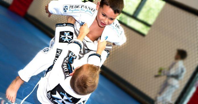 Jiu Jitsu for Kids, class