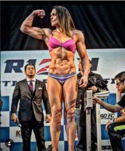 Gabi Garcia Rizin weigh ins