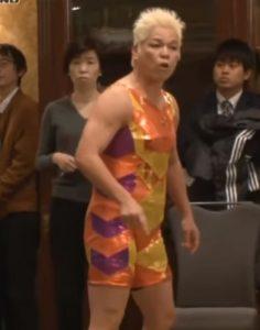 Shinobu Kandori Yelling