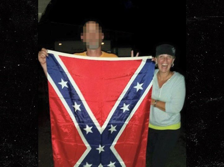 Kimberly Jones Confederate flag