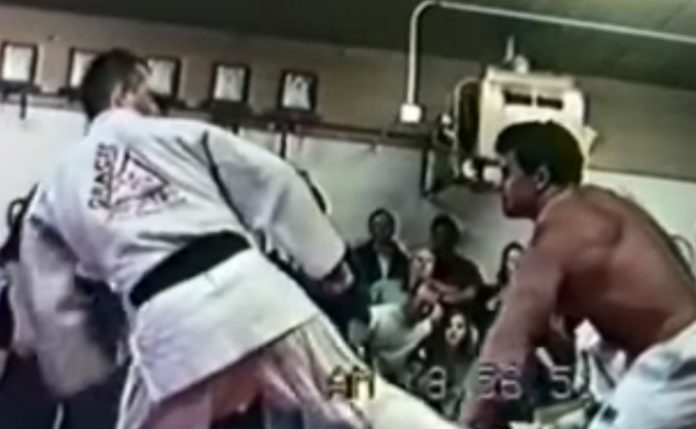 150 lbs Jiu-Jitsu Black Belt Pedro Sauer Vs 250 lbs Bodybuilder Mr Utah