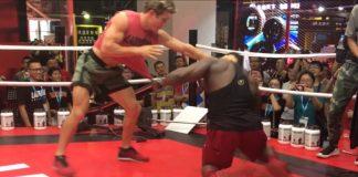 Bodybuilder Takes on UFC Star Sage Northcutt