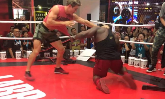 Bodybuilder Takes on UFC Star Sage Northcutt