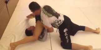 Renzo Gracie vs Paulo Miyao - Rolling