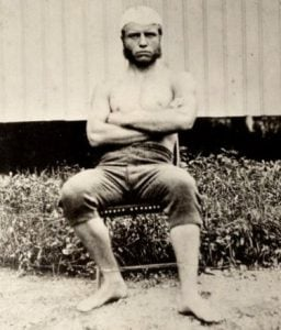 Theodore Roosevelt as a young man
