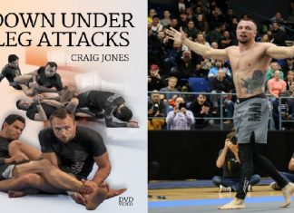 Craig Jones Down Under Leg Attacks DVD