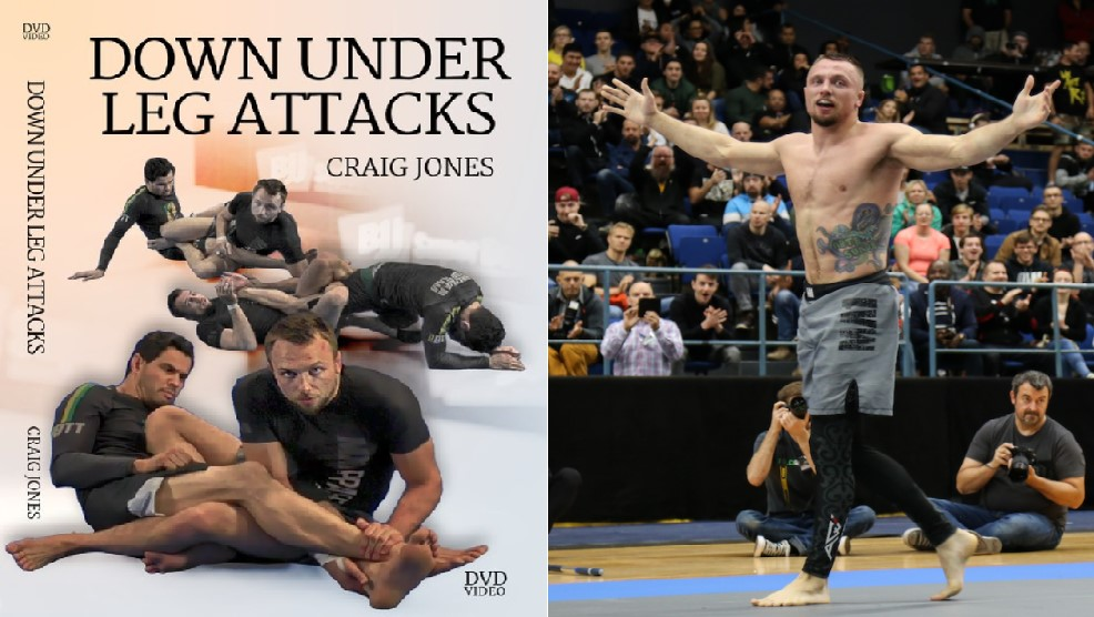REVIEW: Craig Jones - Down Under Leg Attacks DVDs