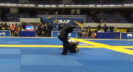 Black Belt Heel Hooking a Guy on IBJJF Worlds, RULES???