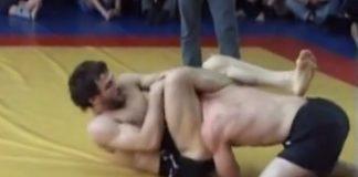 Khabib Nurmagomedov vs First Russian BJJ Black Belt