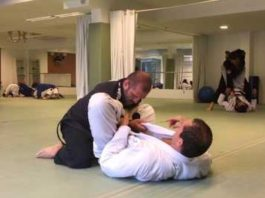 Roger Gracie Rolling with Ralph Gracie