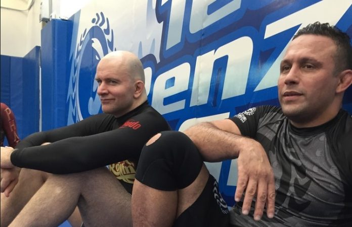 Story about Renzo Gracie Being Challenged by