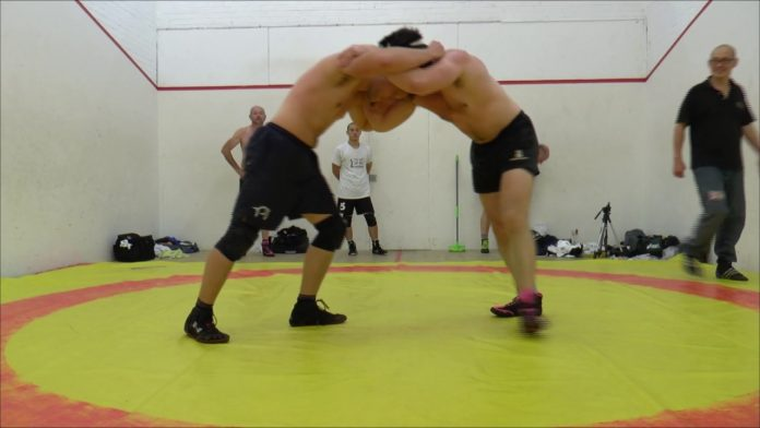 Submission grappling