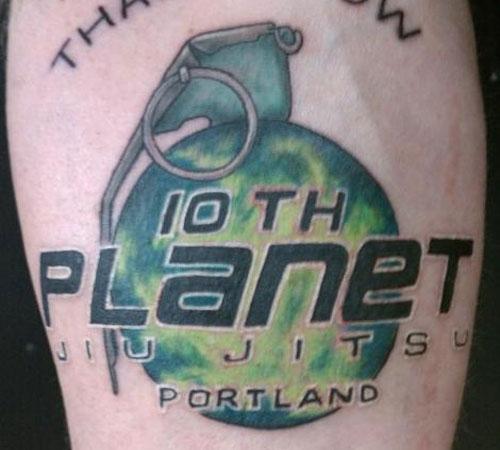 10thplanet - Jiu Jitsu Tattoos - A Collection Of Art Within An Art