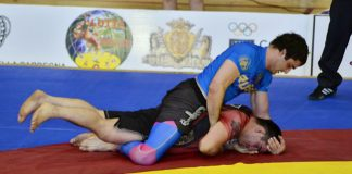 Grappling martial Arts