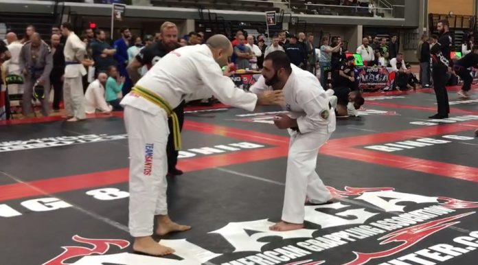 Karate Black Belt vs BJJ Black Belt in Naga Tournament