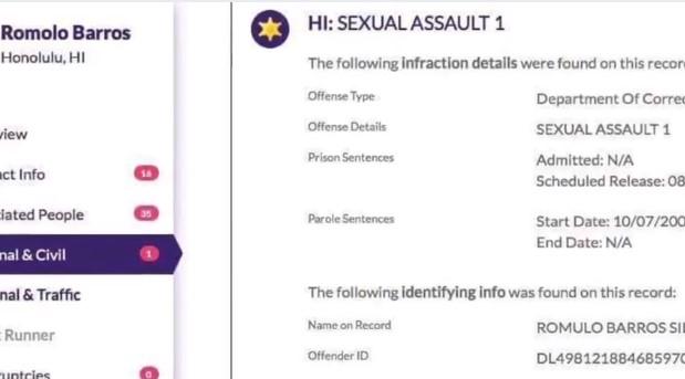 Screenshot 23 - More Convicted Sexual Predators in Rickson Gracie JJGF Federation