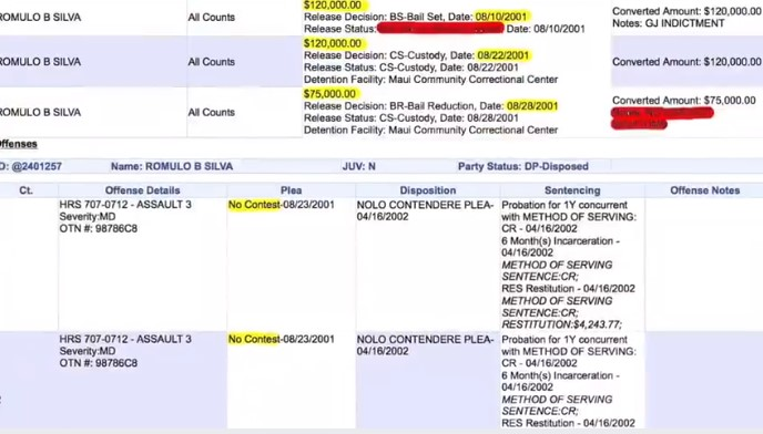 Screenshot 24 - More Convicted Sexual Predators in Rickson Gracie JJGF Federation