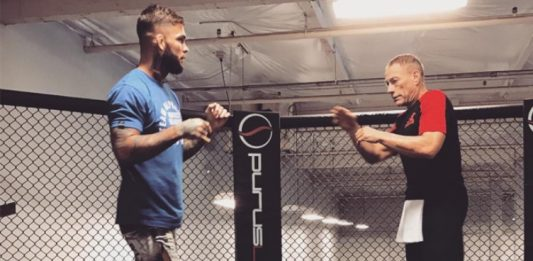 Cody Garbrandt Went Crazy after Jean-Claude Van Damme Kicked Him in the Teeth