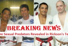 Sexual predators Rickson Gracie Team