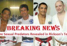 Sexual predators Rickson Gracie Team