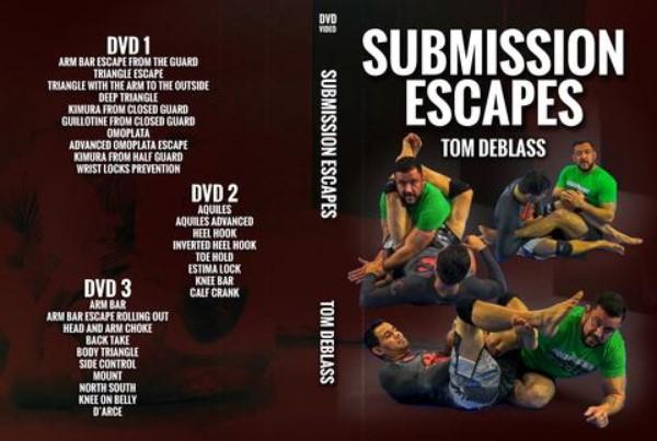 Tom DeBlass Submission Escapes BJJ DVD