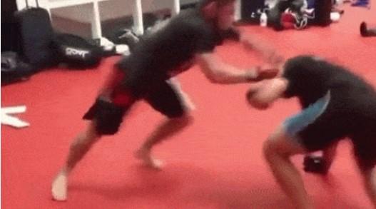 Watch Khabib Submits Leandro Vieira 3rd degree Black Belt
