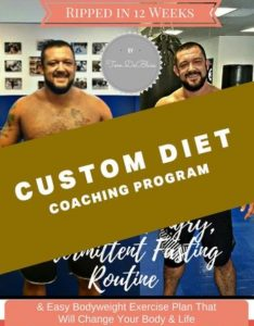 Tom DeBlass Custom Diet