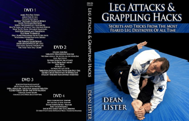 Dean Lister Leg Attacks & Grappling Hacks