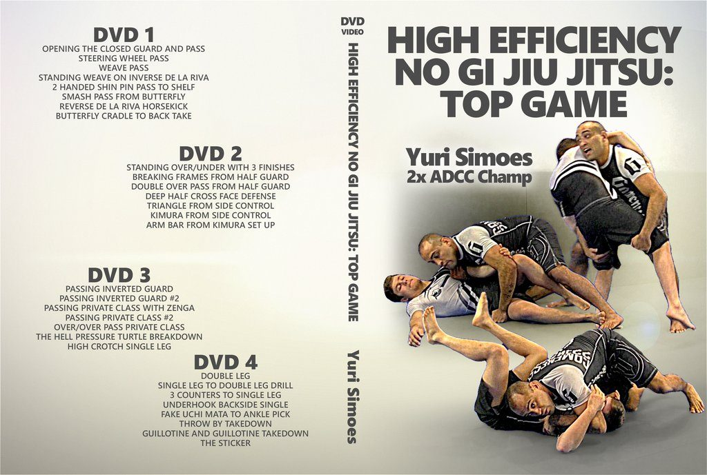 Yuri Simoes DVD High Efficiency no gi Jiu Jitsu: Top Game