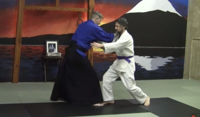 Innovative Aikido Master and His Anti-Takedown System