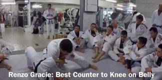 Renzo Gracie's Favorite Knee on Belly Escape