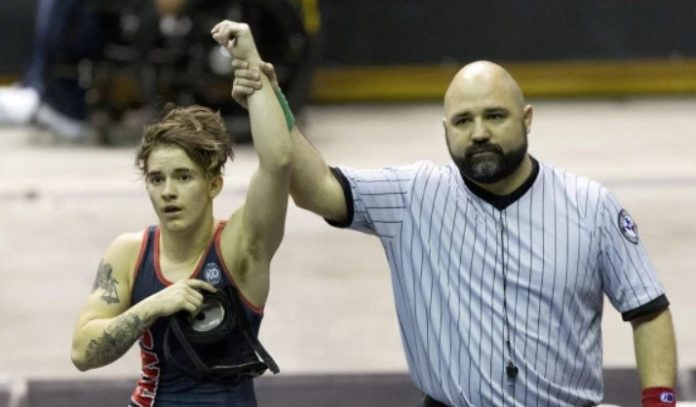 Undefeated Transgender Wins a Girls' State Wrestling Championship 2nd in a Row - Crowd Boos