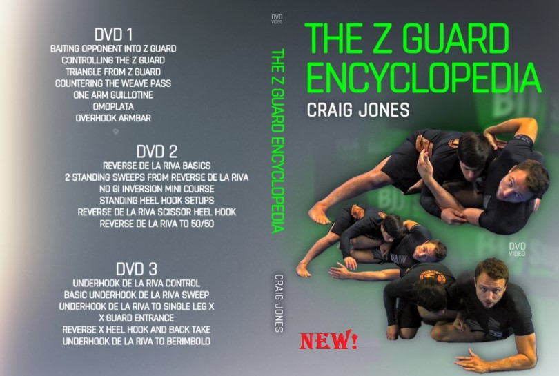 NEW DVD and DIGITAL instructional from CRAIG JONES!!! - The Z Guard Encyclopedia!