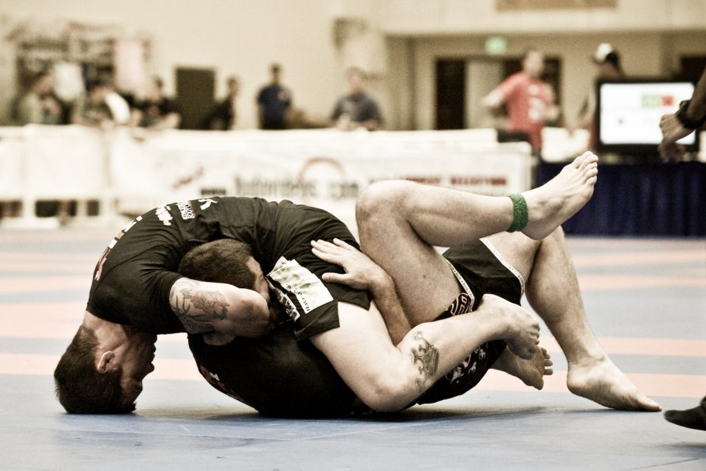 BJJ Submissions Guillotine