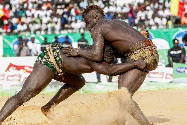 African Martial Arts wrestling